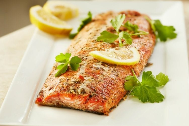 Fabulously Easy Herbed Salmon