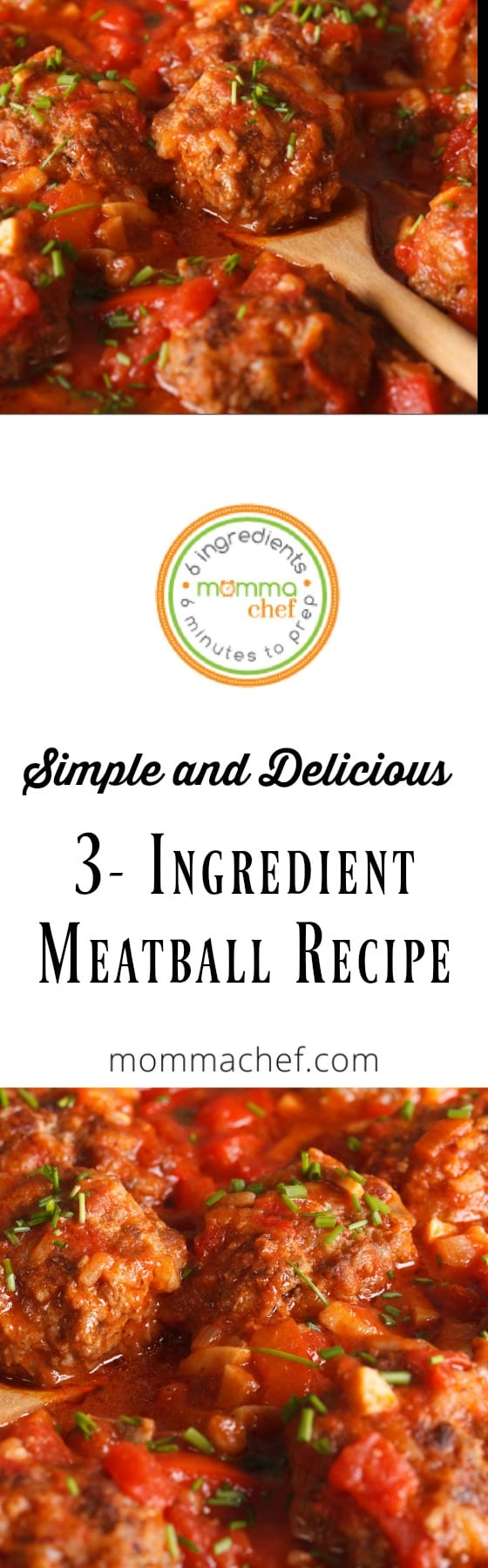 Quick and Easy 3 Ingredient Meatballs