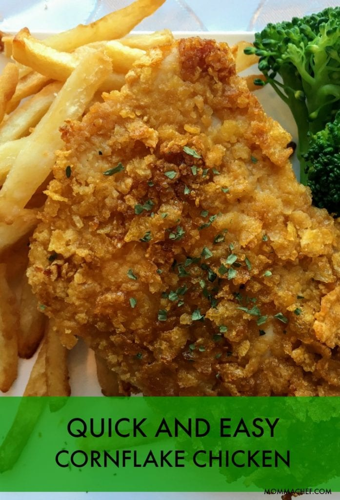 Quick and Easy Crispy Cornflake Coated Chicken Recipe a Kids' Favorite