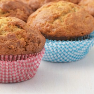 Super Easy and Kid-Approved Banana and Hidden Zucchini Muffin Recipe