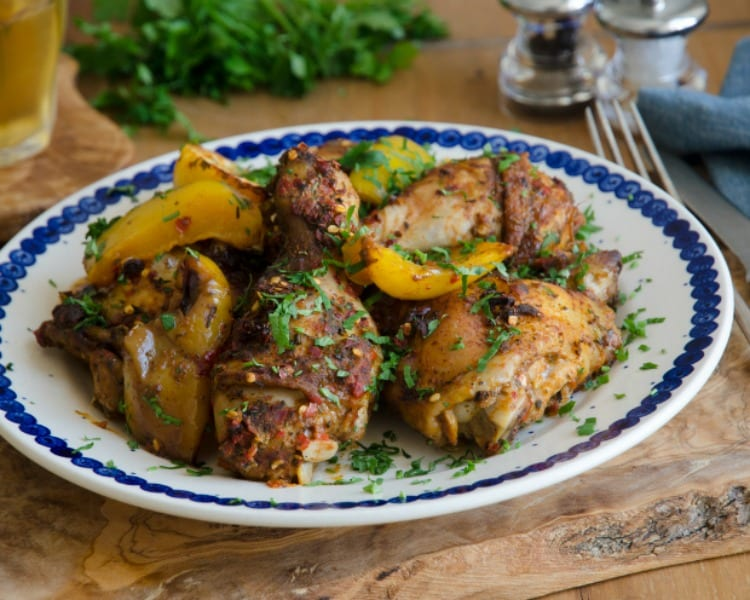 Quick and Easy 5-Minute Greek Chicken