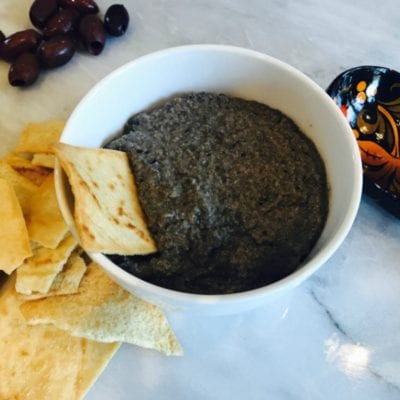 Homemade 5-minute Olive Tapenade