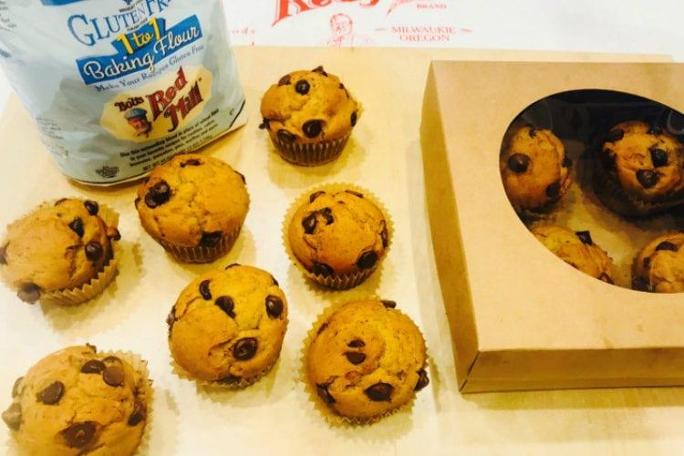 6-Ingredient Gluten Free Banana Muffins