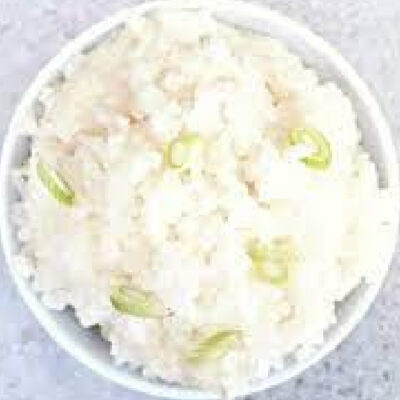 Garlic-Infused Sticky Rice