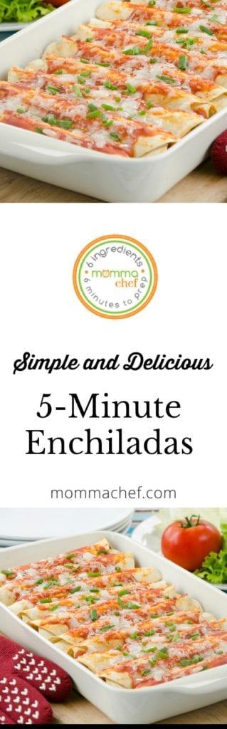 Simple and Delicious Vegetarian Enchiladas