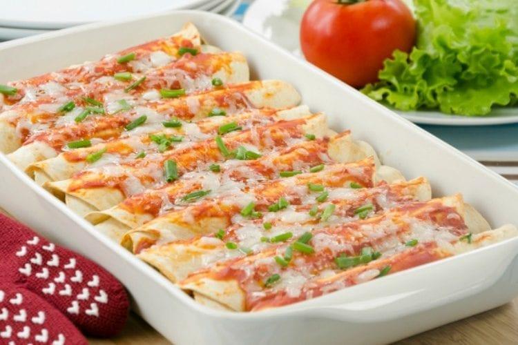 Jordan's Simple and Delicious Vegetarian Enchiladas