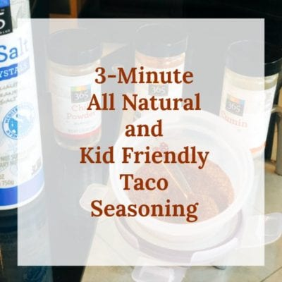 The Best 3-Minute Taco Seasoning