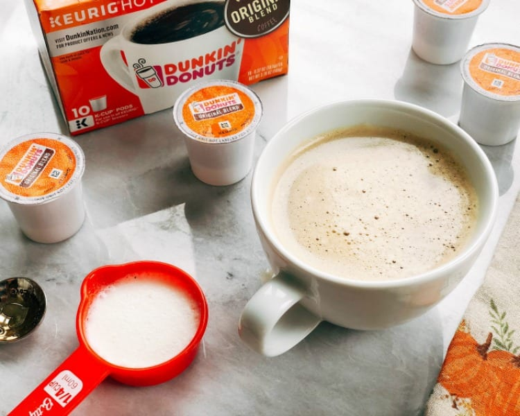 Keto-Friendly Hazelnut Latte