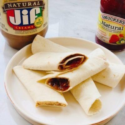Bundles of PB & Joy Tortilla Wraps