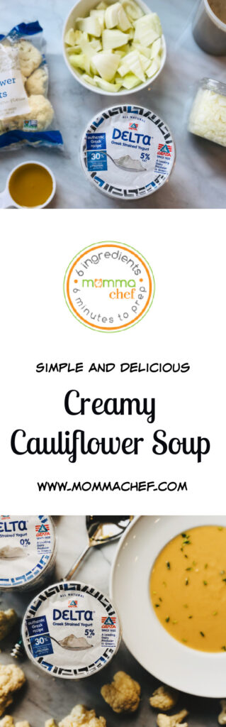 Quick and Easy Cauliflower Soup