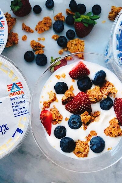 Quick and Easy Kids Yogurt Parfait